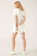 Kara Mini Dress - White