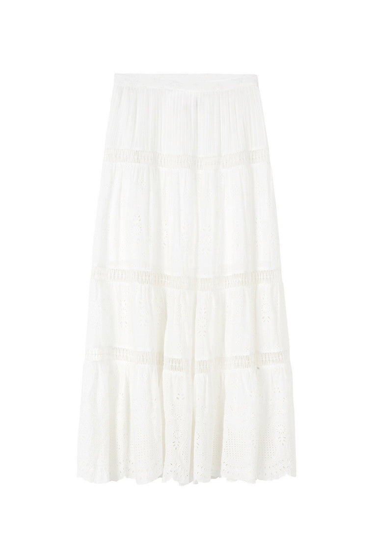 Xanthe Maxi Skirt - White
