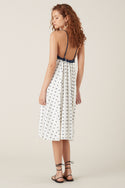 Hanini Midi Dress - White