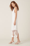 Onas Midi Dress - White