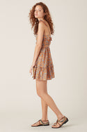 Alamea Mini Dress - Orange