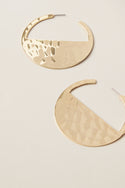 Kyra Large Hoop Earring - Gold