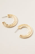 Ruchi Small Hoop Earring - Gold