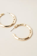 Darsha Small Hoop Earring - Gold