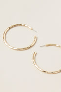 Darsha Large Hoop Earring - Gold