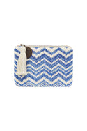 Tigerlily Woven Purse - Blue