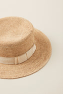 Kala Soft Ribbon Hat - Natural