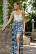 Belize Gabriella Wrap Maxi Skirt - Ink