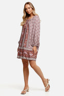 Samara Arlo Tunic - Rose