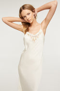 Santa Teresa Estella Midi Dress - Cream