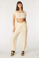 La Camella Thalia Top - Whisper White
