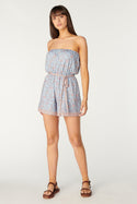 Aurora Agata Playsuit - Dusty Blue