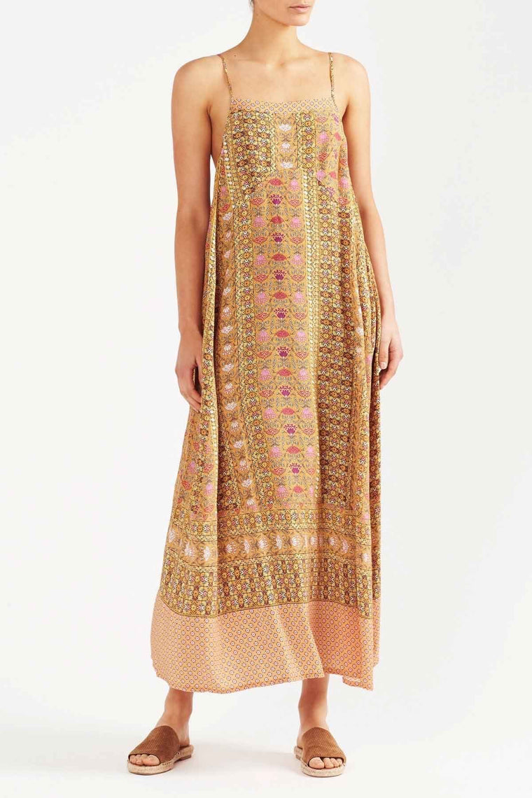 Anna Maxi Dress - Yellow