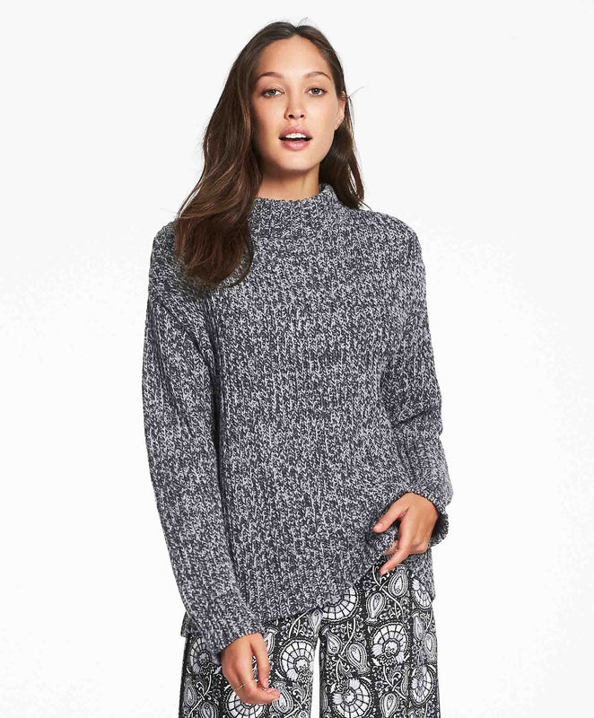 Tigerlily Carine Knitted Jumper - Grey