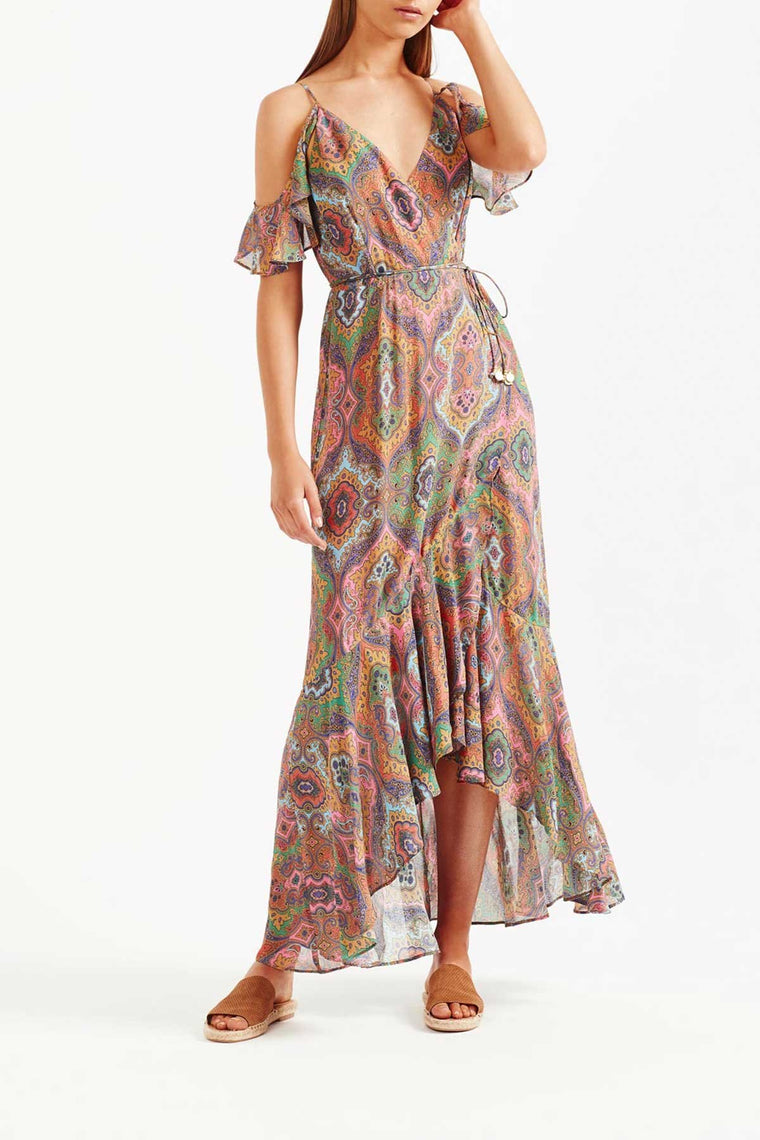 Delon Maxi Dress - Multi