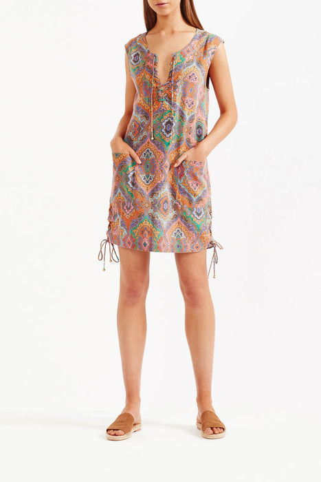 Tigerlily Delon Shift Mini Dress - Multi
