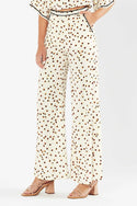 Gaia Wide Leg Pant - White