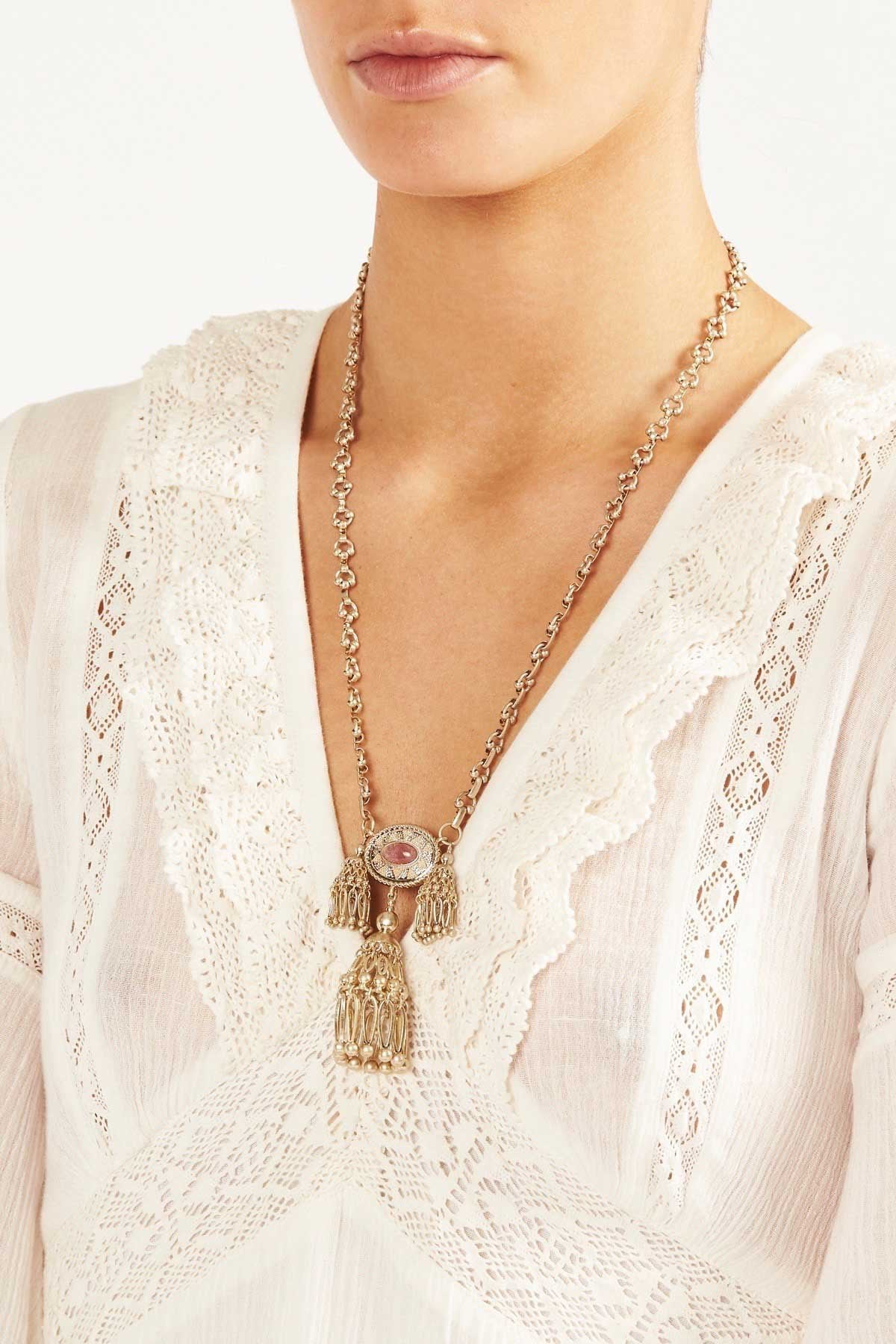 Tigerlily Womens Ishtar Necklace - Gold