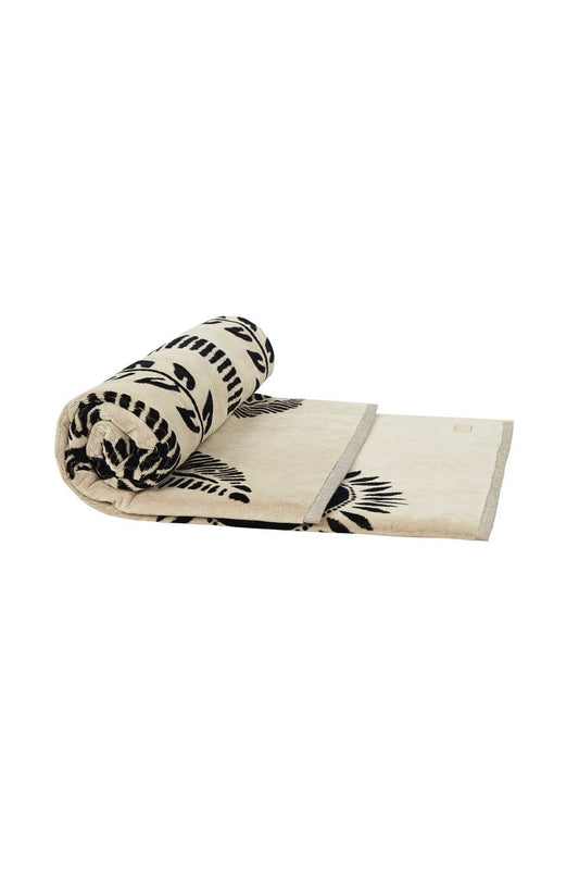 Palm Towel - Bone