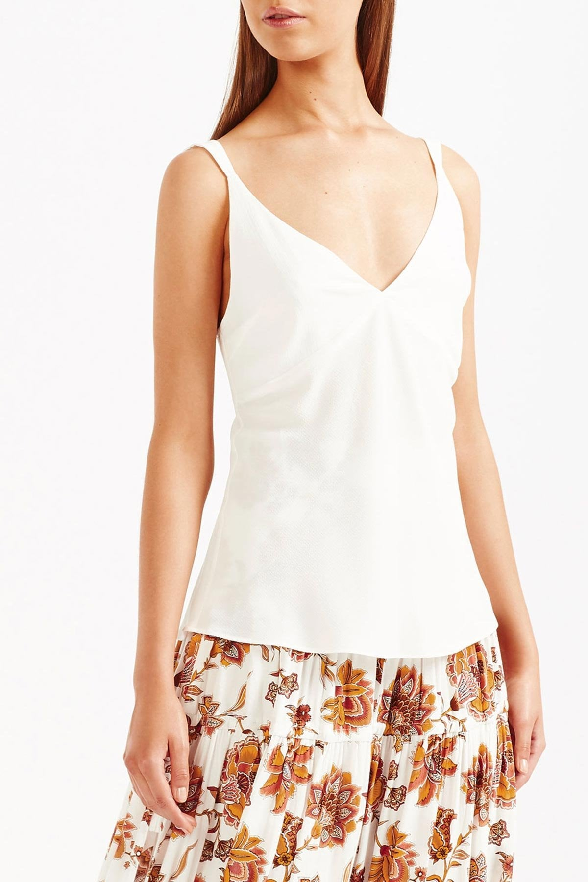 Tigerlily Rena Cami Top - White