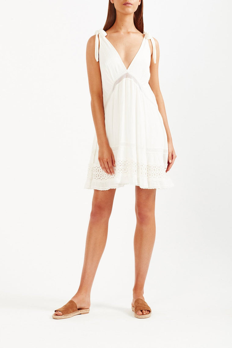 Sofia Mini Dress - White