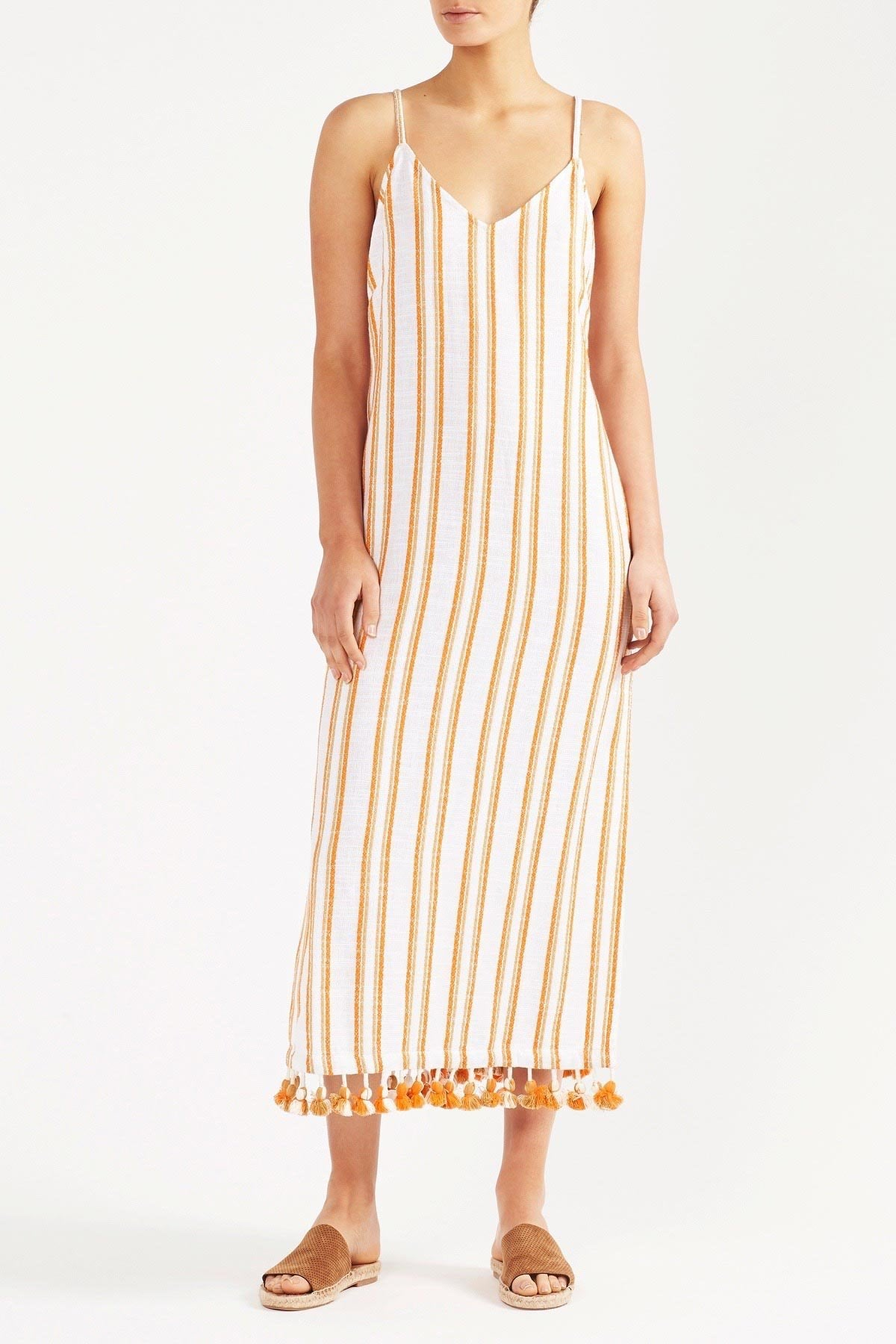 Tigerlily Vanita Midi Dress - Stripe