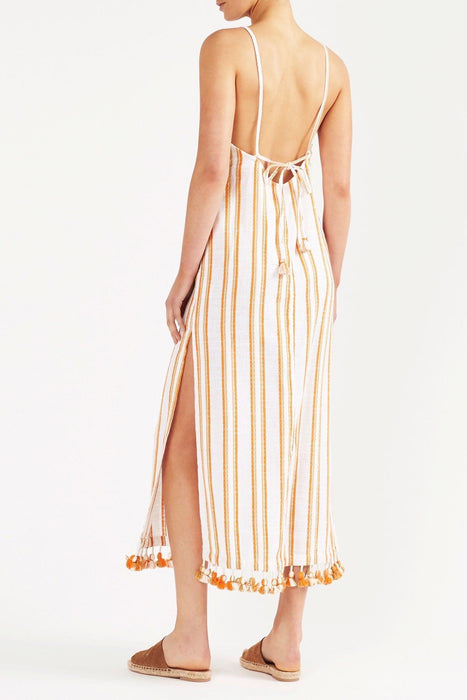 Vanita Midi Dress - Stripe