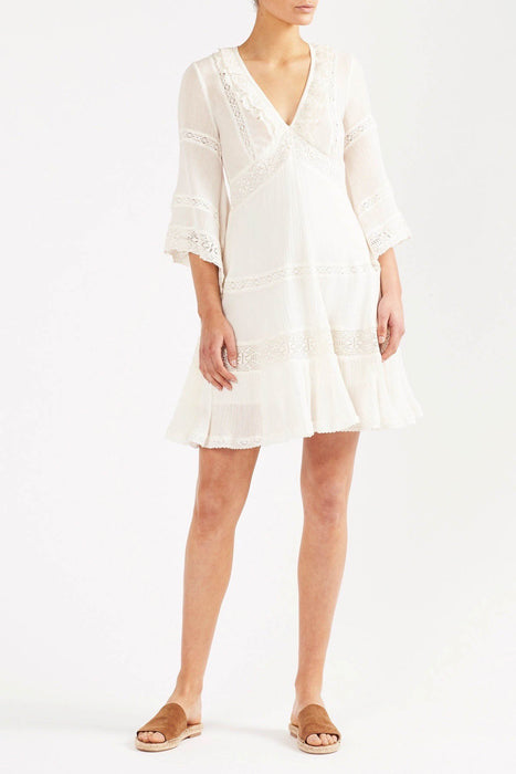 Tigerlily Womens Zoayla Mini Dress - Vintage Ivory