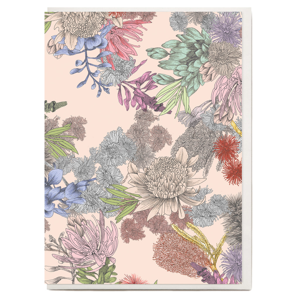 Native Floral Greeting Card