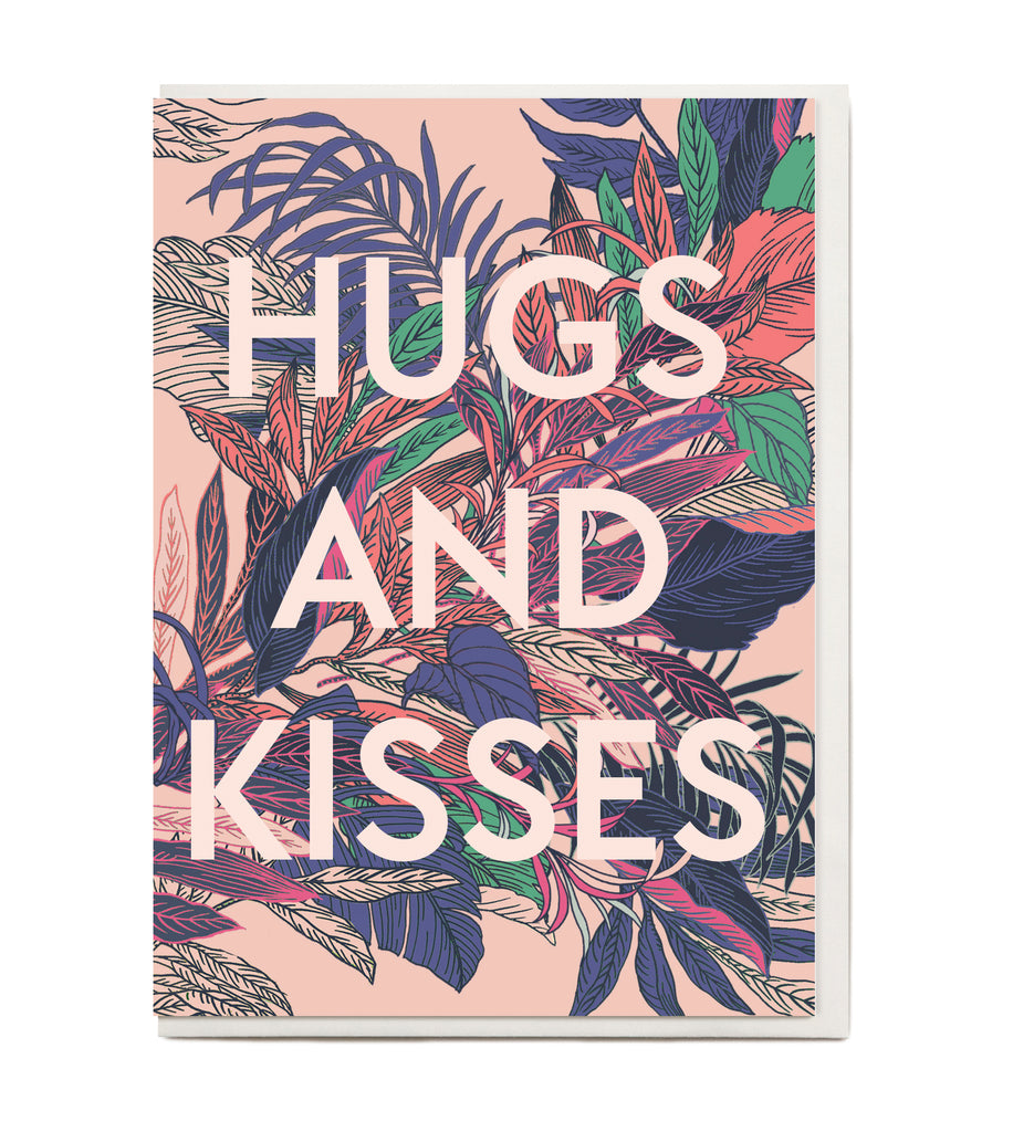 New! Hugs and Kisses Greeting Card
