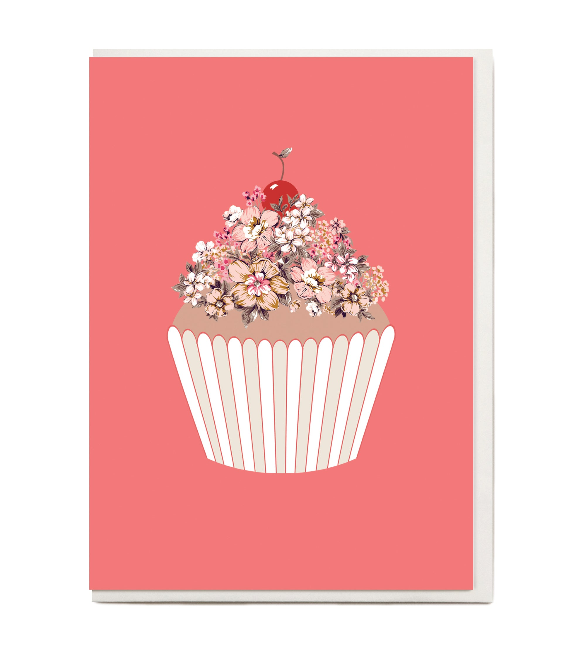 New Cup Cake Greeting Card The Study Collective