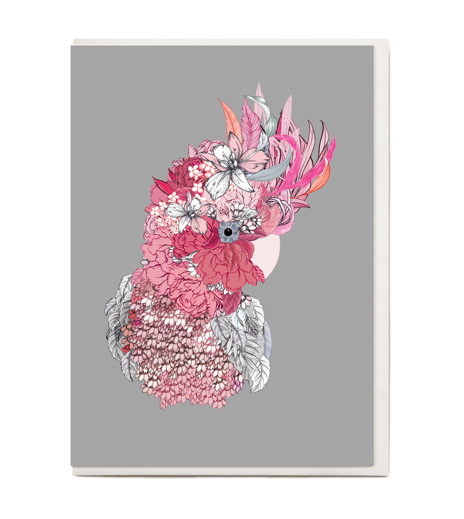 New! Galah Greeting Card