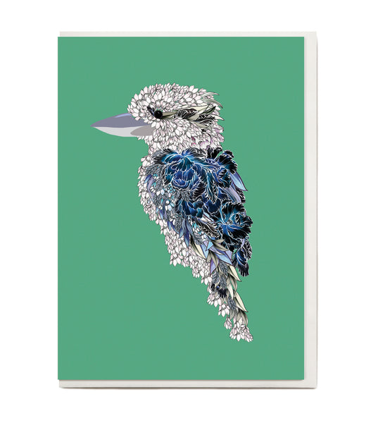 New! Kookaburra Greeting Card