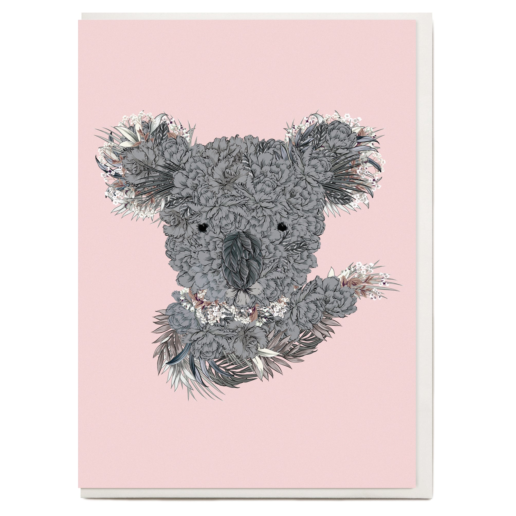 Koala Greeting Card The Study Collective