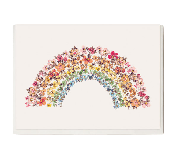 New! Rainbow Greeting Card