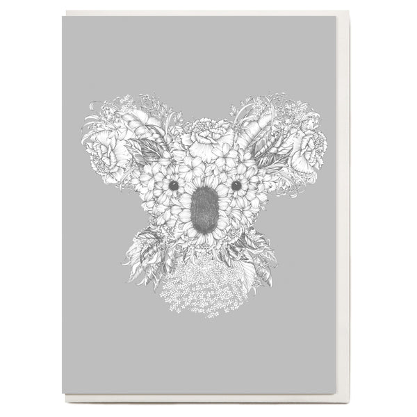 Drawn Koala Greeting Card