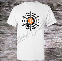 Monogrammed Halloween T Shirt - Adult and Kids sizes