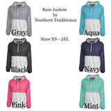 Monogram Ladies Rain Jacket