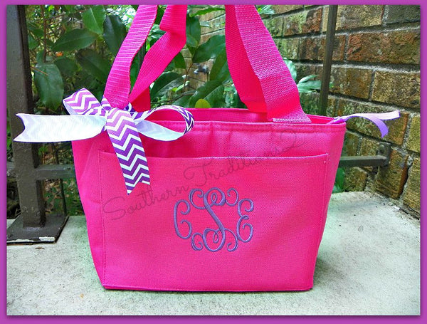 Monogrammed Lunch Tote - SALE