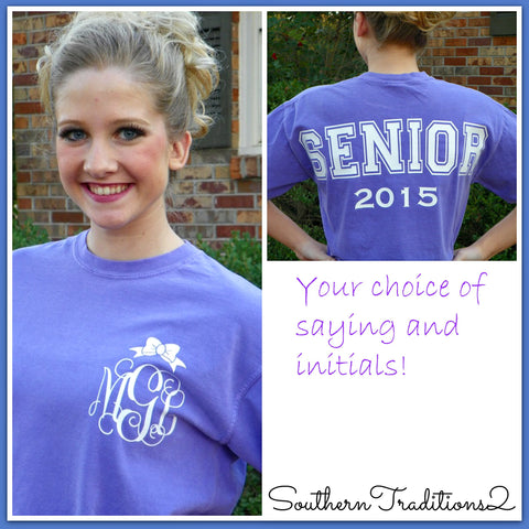 Senior Graduation Comfort Color Tees