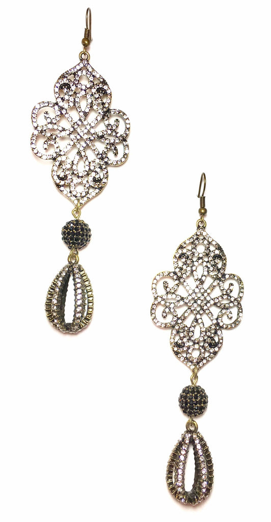 Antique Bling Earrings