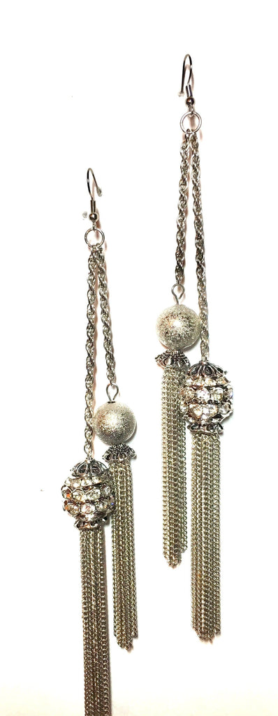 Ball and Chain Earrings