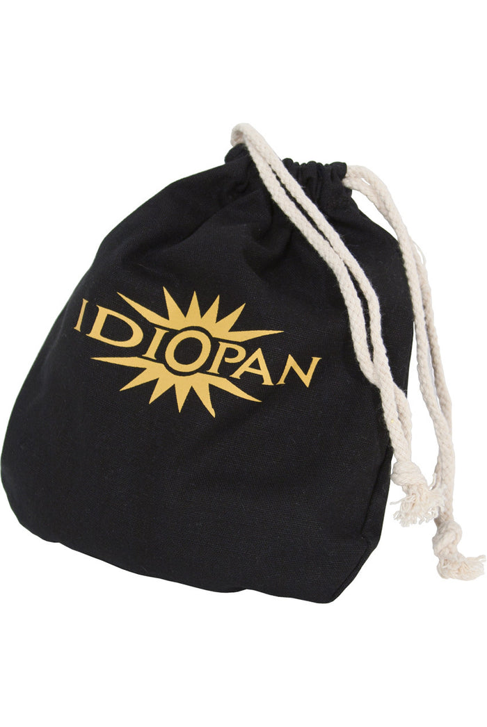 Idiopan 6-Inch Drawstring Bag - Black