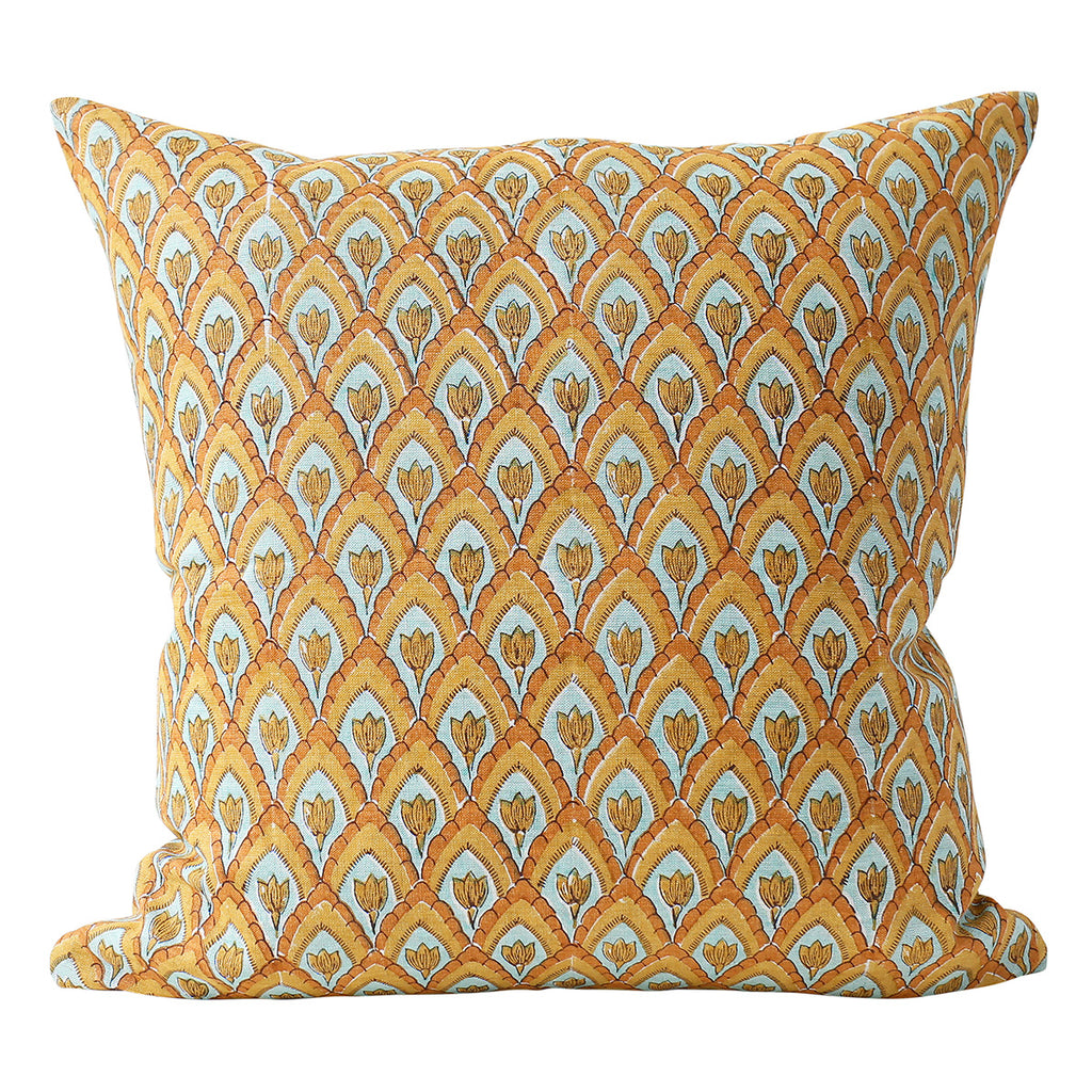 Haveli Calypso linen cushion 50x50cm