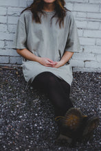 Smokey Green T-Shirt Dress