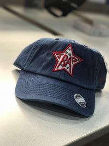 TrapStar MoneyStacks Navy Dad Hat