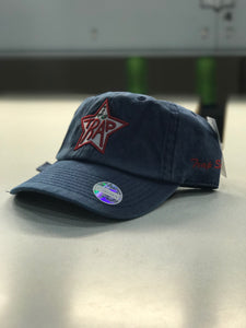 TrapStar Stonewashed Navy Blue Dad Hat