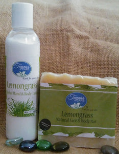 Herbal All Natural Jamaican Body Lotion & Bar Soap Combo Set