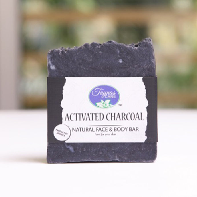 Activated Charcoal Jamaican All Natural Bar Soap