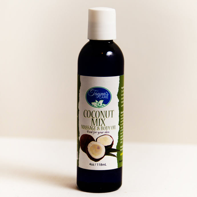 Coconut Mix All Natural Jamaican Oil With Lavender